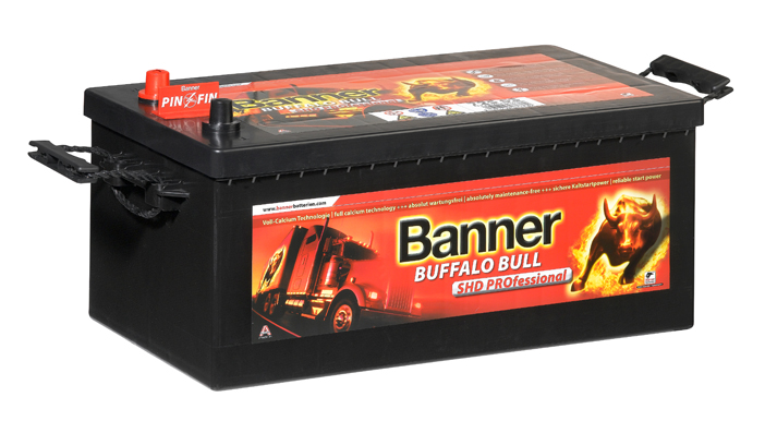 banner buffalo bull shd professional 72503 lkw batterie. Black Bedroom Furniture Sets. Home Design Ideas