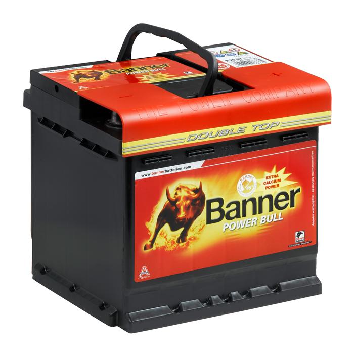 banner power bull autobatterie asia p45 23 45ah 12v 360a. Black Bedroom Furniture Sets. Home Design Ideas